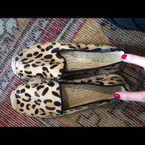 Soludos Leopard espadrilles